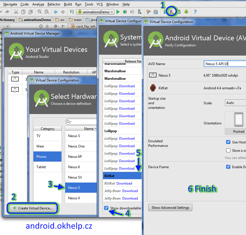 android-studio-create-virtual-device-emulator