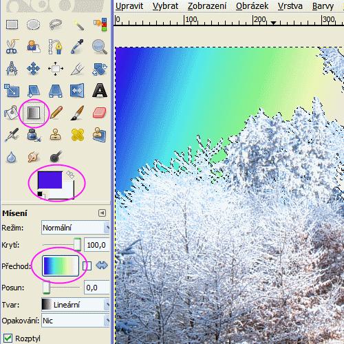 gimp_vyplneni_oblasti_barvou